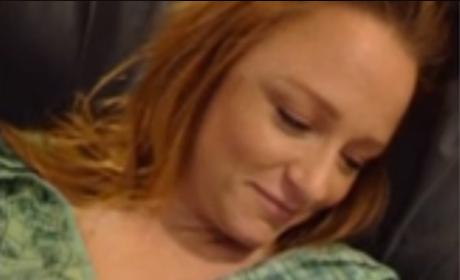 Maci Bookout and newborn