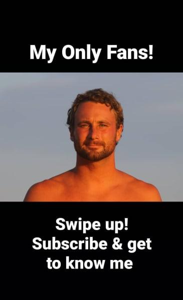 Corey Rathgeber advertises OnlyFans