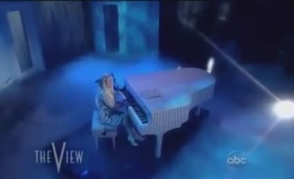 "Lady Gaga Performs ""You and I"" on The View: Watch Now!"