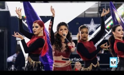 Selena Gomez Performs Medley of Hits at Thanksgiving Halftime Show