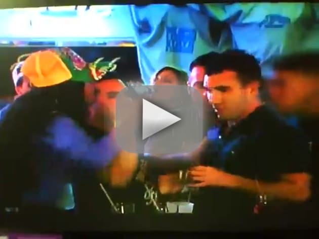 Snooki Getting Punched on Jersey Shore