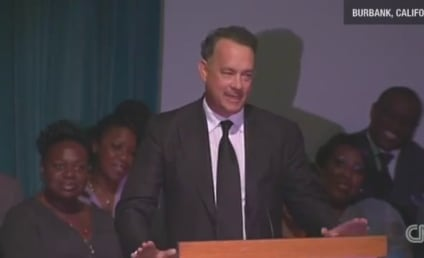 Tom Hanks Cracks Up Mourners at Michael Clarke Duncan Memorial Service