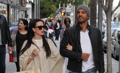 Kyle Richards and Mauricio Umansky Shop in Beverly Hills