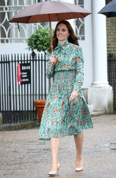 Kate Middleton in the Rain
