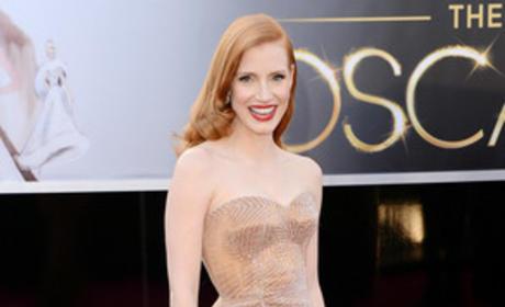 Jessica Chastain Academy Awards Dress