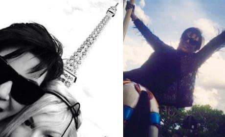 Kris Jenner: HERE in Paris