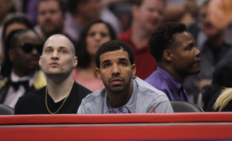 Drake Clippers Game Image