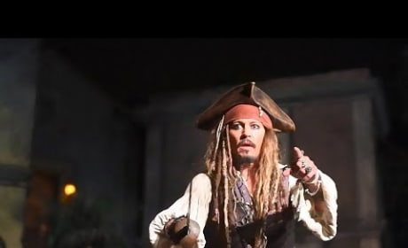 Johnny Depp Pops Up On Pirates Ride as Captain Jack, Stuns Fans at Disneyland!