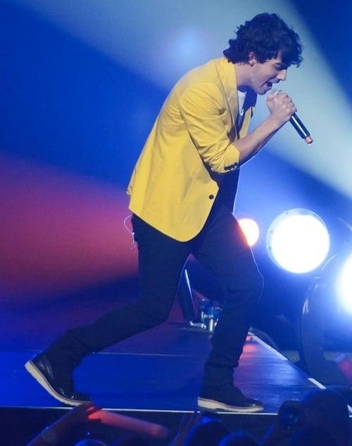 Joe Jonas at Jingle Ball