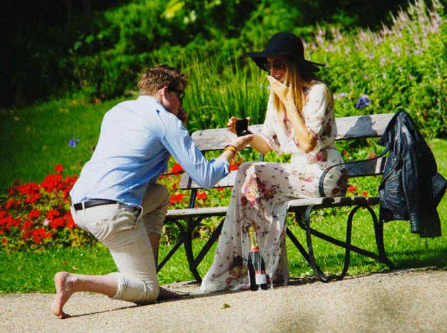 Cressida Bonas and Prince Harry (Fake)