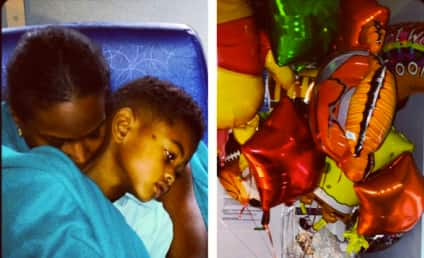 """Tameka Raymond Posts Photo of Son in Hospital, Counts Her """"Blessing"""""""