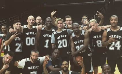 Justin Bieber: MVP of Kanye's Birthday Basketball Game! Watch Him Show Off His Skills!