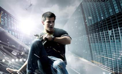 New Abduction Movie Poster: Taylor Lautner in Action!