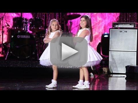 """Sophia Grace & Rosie Perform """"Can't Hold Us"""""""