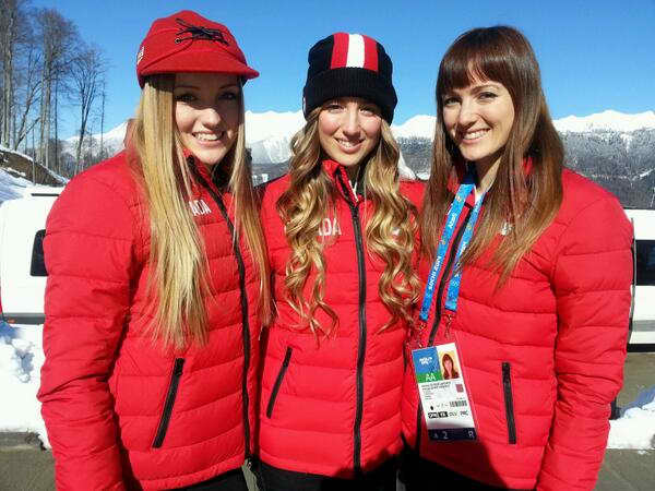 Chloe, Maxime and Justine Dufour-Lapointe, Olympics Hotties