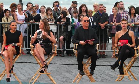 Kim Kardashian on Project Runway