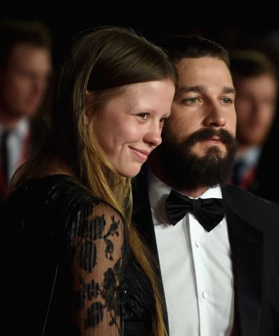 Mia Goth and Shia LaBeouf