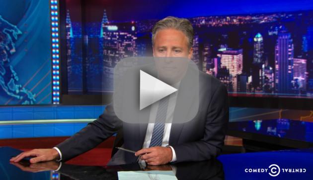 Jon Stewart Delivers Emotional Speech About Charleston