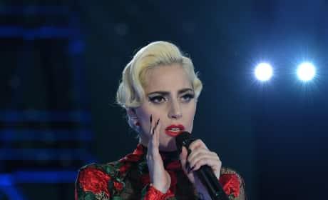 Lady Gaga at the Victoria's Secret Fashion Show