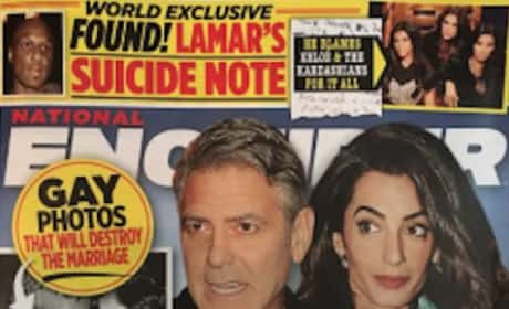 George Clooney Gay Affair Story
