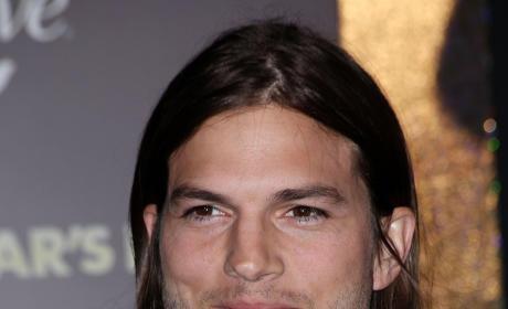 Ashton Kutcher on the Red Carpet