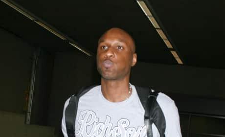 Lamar Odom Pill-Popping Video