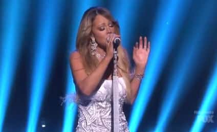 Mariah Carey Performs Medley of Hits on American Idol Finale