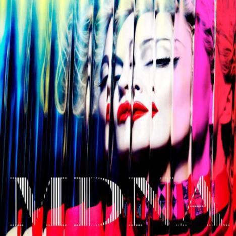 Madonna MDNA Cover