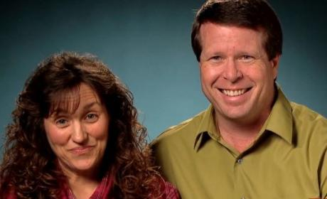 Michelle and Jim Bob Duggar Pic