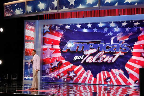 Nick Cannon on America's Got Talent
