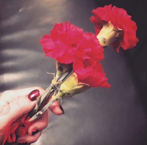 Kat Von D flowers