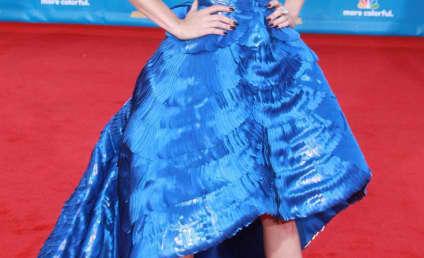 Emmy Awards Fashion Face-Off: January Jones vs. Emily Deschanel