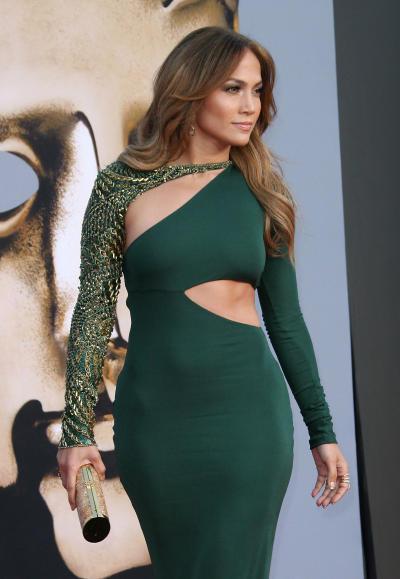 Jennifer Lopez at the BAFTA Gala