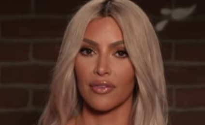 Kim Kardashian Reads Kanye Mean Tweet to Jimmy Kimmel!