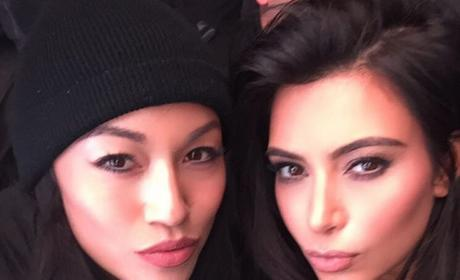 Kim Kardashian and Stephanie Shep Photo