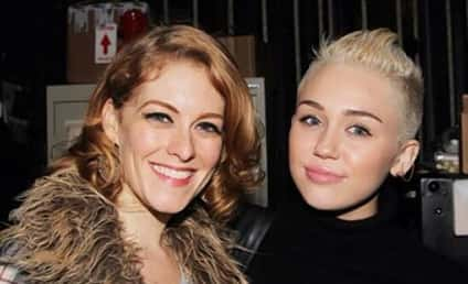 Miley Cyrus Tweets Pic of Mystery Woman, Threatens Father
