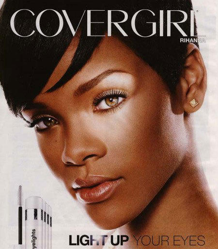 Rihanna Cover Girl Ad