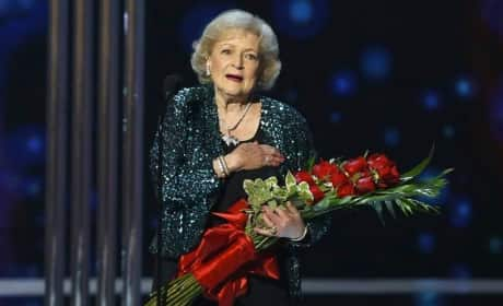 Betty White Wins People's Choice Award