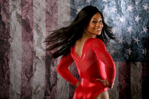 Gabby Douglas Modeling