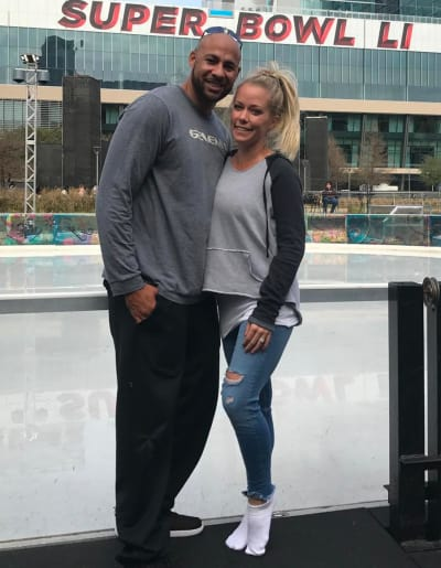 Kendra and Hank in Houston