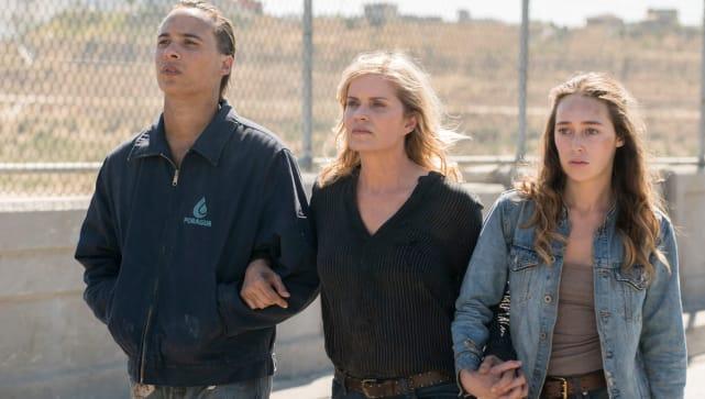 The clark family on fear the walking dead