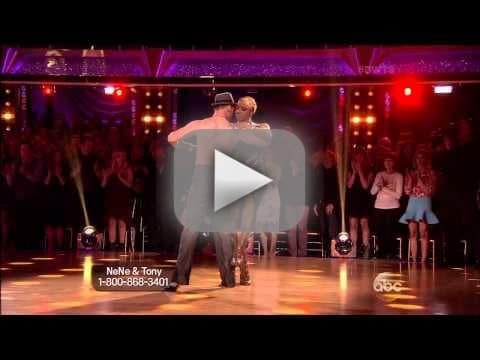 Nene Leakes & Tony Dovolani - Argentine Tango
