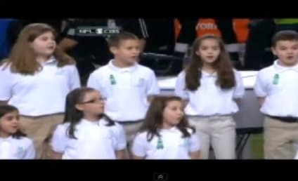 "Sandy Hook Chorus, Jennifer Hudson Sing ""America the Beautiful"" [VIDEO]"