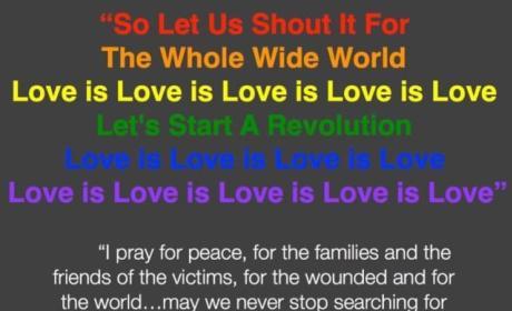 LeAnn Rimes Orlando Shooting Tribute