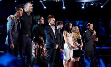 The Voice Results: Your Final Four Are ...