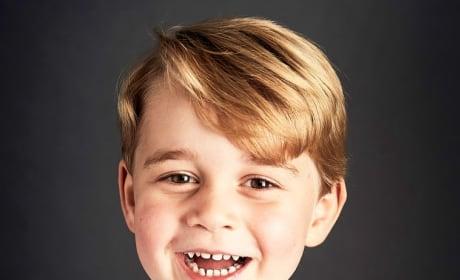 Prince George Portrait at 4