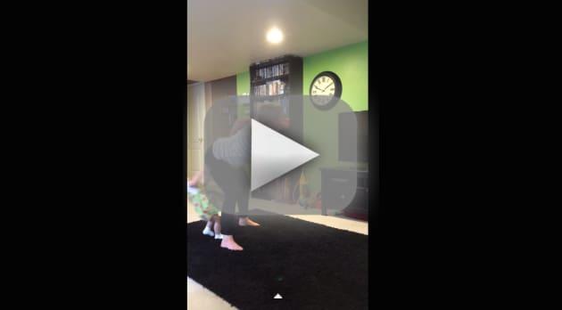 Woman Twerks Into Child