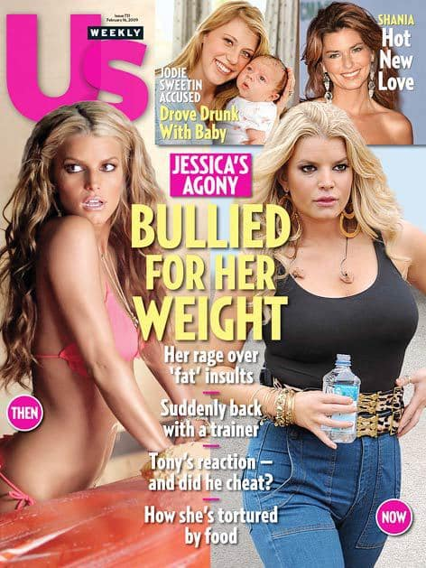 Jessica Simpson Weight Gain