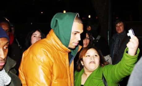 Chris and a Fan