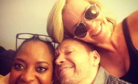 Sherri Shepherd, Jenny McCarthy and Donnie Wahlberg